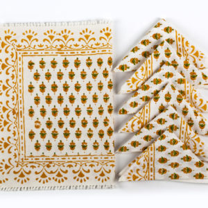 Wit Guest Towels With Cross Stitch Embroidery